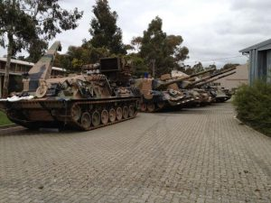 Armoured Recovery Vehicle and Leopard Tanks, Puckapunyal